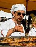 kulinarny plenerowy Obraz Royalty Free