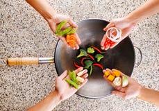 Kulinarny pojęcie obraz stock