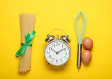 Kulinarny pojęcie, kulinarny czas obrazy royalty free