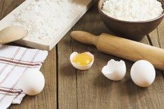 Kulinarny proces pieczenie Obraz Stock