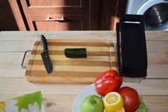 Kulinarny przygotowywał miejsce pracy Zdjęcie Royalty Free