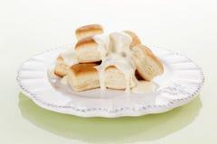 Kulinarny słodki deser. fotografia stock