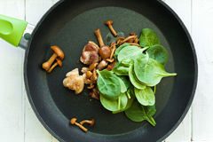 Kulinarny smakowity naczynie od mięsa i pomidorów Obraz Stock