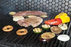 Kulinarny stek grill zdjęcie royalty free
