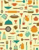Kulinarny tło ilustracji
