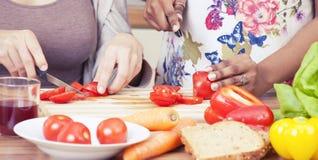 Kulinarny tło Zdjęcia Stock