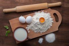 Kulinarny tło Zdjęcie Stock
