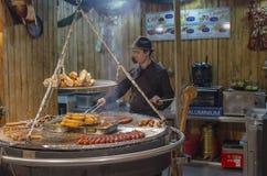 Kulinarny tradycyjny jedzenie Zdjęcie Stock