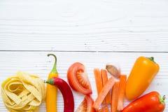 Kulinarny zdrowy karmowy pojęcie Obrazy Stock