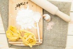 Kulinarny zdrowy karmowy pojęcie Fotografia Stock