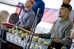 Kulintang Percussionist 5 royalty free stock images