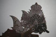 Kulit indonesio del wayang del teatro de la marioneta de la sombra Fotos de archivo libres de regalías