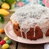 Kulitch (Kulich), Russian Easter Bread Royalty Free Stock Photo
