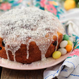 Kulitch (Kulich), Russian Easter Bread Stock Image