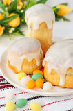 Kulitch (Kulich), Russian Easter Bread Stock Photos