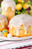Kulitch (Kulich), Russian Easter Bread Stock Images