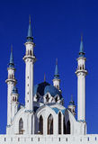 Kull Sharif Mosque of Kazan. City landscape of capital of republic Tatarstan Stock Photo