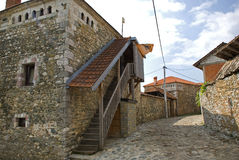 Kulla house, Dranoc, Kosovo Royalty Free Stock Photography
