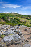 Kullaberg hills Royalty Free Stock Image