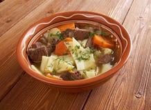 Kullama. gekookt vlees met noedels royalty-vrije stock foto's