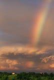 kullar över regnbågen arkivfoto
