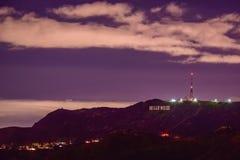 Kullar för lilor för Hollywood ` s fotografering för bildbyråer