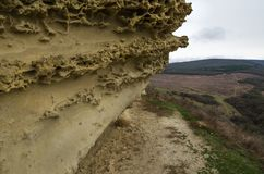 Kullar i Krim nära Bakhchisarai Krim Arkivfoton