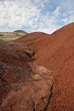 kullar landscape målat Arkivfoto
