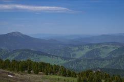 Kullar och berg Arkivbilder
