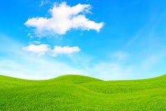 Kullar och sky Fotografering för Bildbyråer
