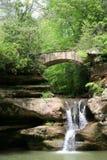 kullar som hocking vattenfallet Fotografering för Bildbyråer