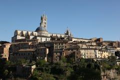 Kullarna av Florence, Italien Arkivbild