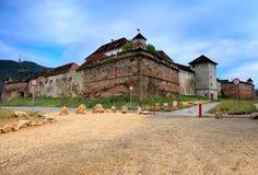 Kullcitadelen, Brasov, Rumänien Arkivbilder