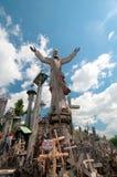 Kulle av kors Arkivbild