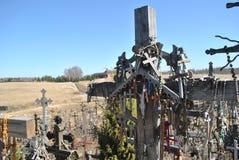 Kulle av kors, Šiauliai, Litauen Royaltyfria Foton