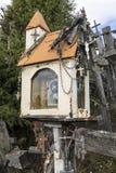 Kulle av kors - Siauliai - Litauen arkivbild