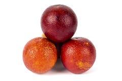 Kulle av nya Sicilian apelsiner royaltyfria bilder