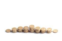 Kulle av pengar Arkivbild