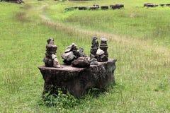Kulle av stenar Arkivbild