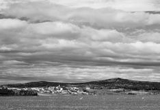 Kulle Straziste, 744,2m, bygd Fotografering för Bildbyråer
