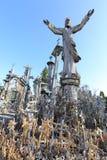 Kullen av kors i staden av Å-iauliaien, i nordliga Litauen royaltyfria bilder
