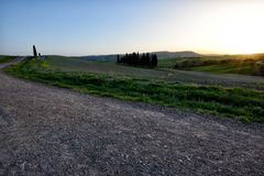 Kullen av Tuscany, paradis är därefter CXIV Royaltyfri Foto