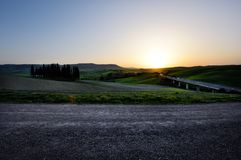 Kullen av Tuscany, paradis är därefter CXVI Arkivfoton