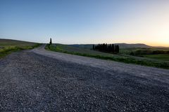 Kullen av Tuscany, paradis är därefter CXVII Royaltyfri Fotografi