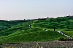 Kullen av Tuscany, paradis är därefter CXX Fotografering för Bildbyråer