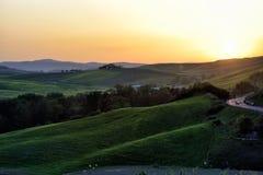 Kullen av Tuscany, paradis är därefter CXXI Arkivbild