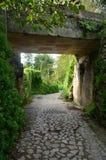 Kullersten går vägen längs den Amalfi kusten royaltyfri bild