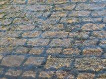 Kullersten i Tissingtonen Ford, Derbyshire Arkivfoto
