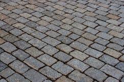kullersten stenlagd gata Arkivbilder
