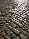 kullerstenväg arkivfoton